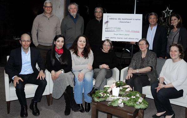 Membres de l'association Amitie Maroc Sud Alsace